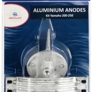 Anodo Piede 50 200 Hp Alluminio Diam Foro 3 8 Quot X16 43 317 11 Osculati