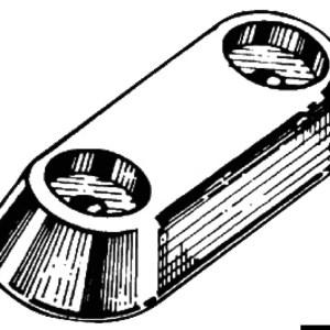 Anodo Ovale Alluminio Vetus 1760 G 43 902 22 Osculati