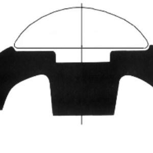 Base Per Profili Pvc Bianco 35 Mm 44 480 16 Osculati