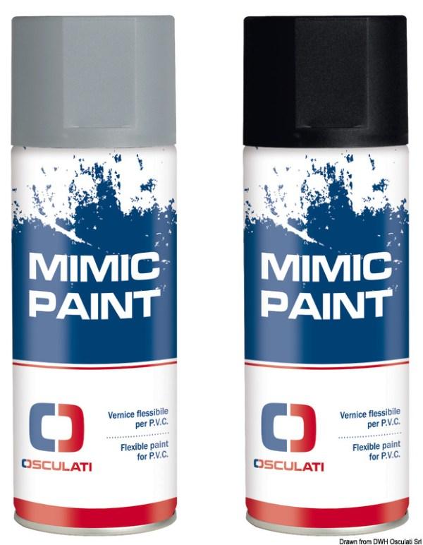 Mimic Paint Spay Rinnova Pvc Ral 7046 Grigio 400ml 52 570 05 Osculati