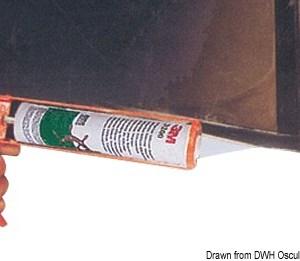 Asta Compact 20 Cm Fanale Bianco 11 113 02 Osculati