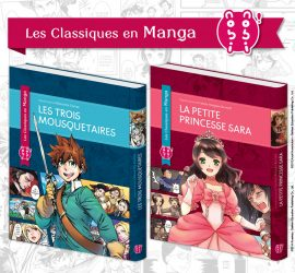 Les mangas La Petite Princesse Sara et Les Trois Mousquetaires chez nobi nobi !
