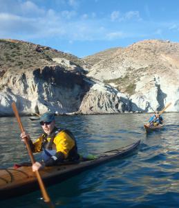 6 nautilus wooden kayaks Cabo de gata 2017 nautiluskayaks rober delante