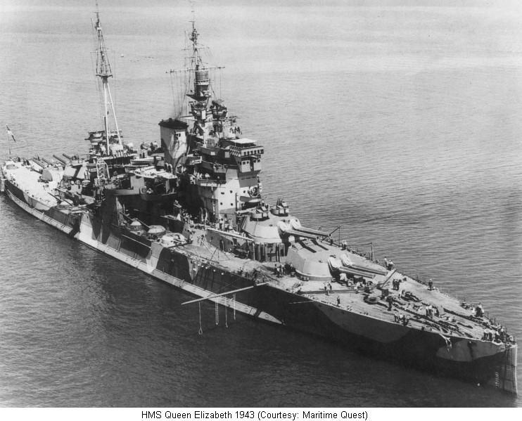 Queen Elizabeth Battle Ship