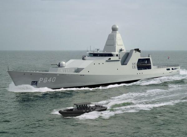 """Corveta holandesa de Class """"Holland"""" (http://www.naval.com.br)"""
