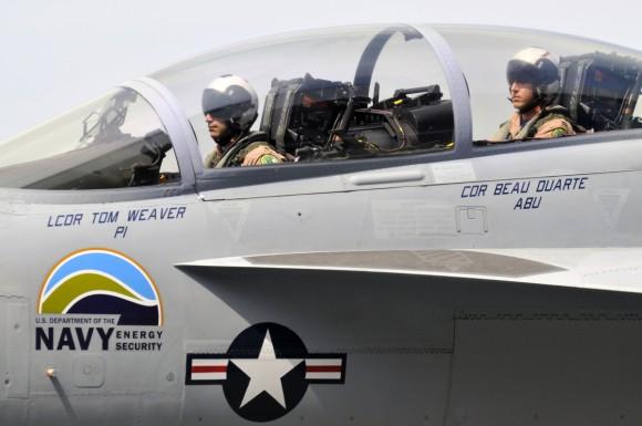 F/A-18 Green Hornet
