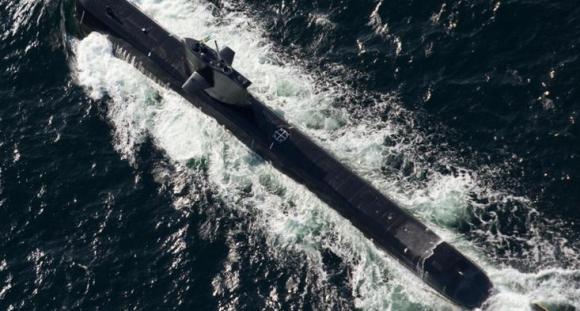 submarino sueco classe Gotland - foto Forças Armadas da Suécia