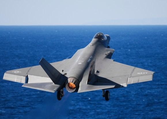 F-35C Lightning II joint strike fighter