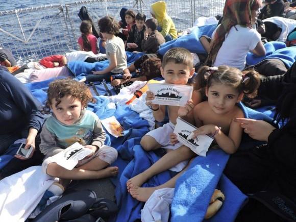 Barroso - resgate refugiados Mediterraneo - foto 3 facebook MB