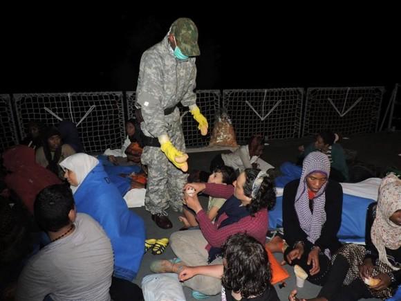 Barroso - resgate refugiados Mediterraneo - foto 4 facebook MB