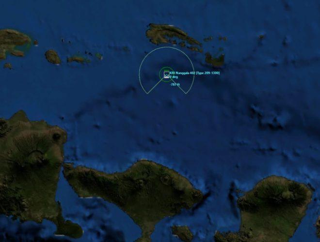 Avistada mancha de óleo em área onde submarino indonésio desapareceu - Poder Naval - A informação naval comentada e discutida