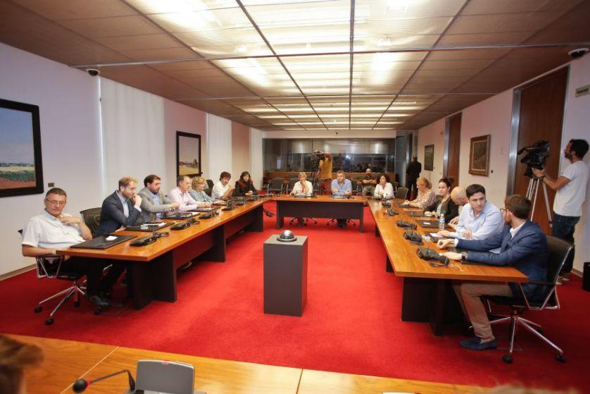 LAS BECAS DE VIAJE A LA UE PARA ADOLESCENTES El Parlamento de Navarra se insta al Gobierno foral a entablar una normativa para la
