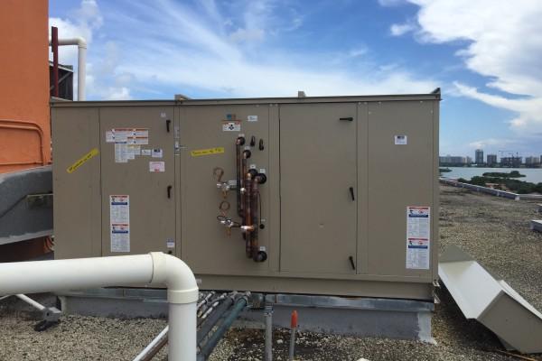 100% Fresh Air Evaporator unit