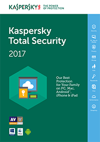 Kaspersky Total Security 2017 Crack & License Key Free download