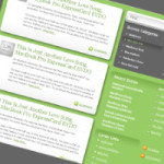 GreenDog WordPress theme – English Version