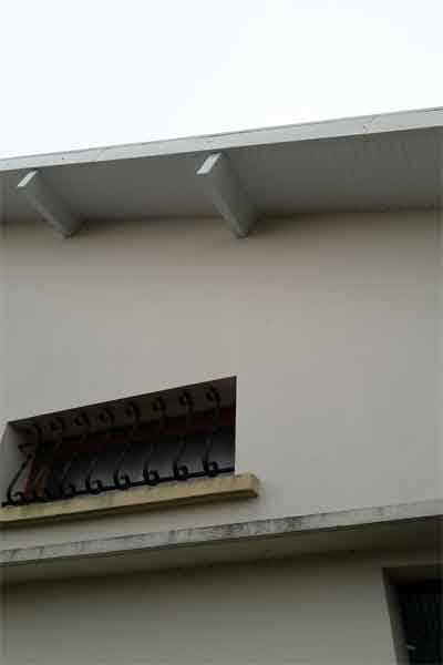 zinguerie planche de rives toiture