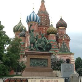ロシア旅行記 モスクワ観光 一日後半(赤い広場、聖ワシーリー寺院、カザン大聖堂、百貨店グム)