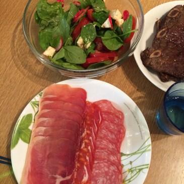 ロンドン三人女子会 ホームパーティー 簡単手軽料理