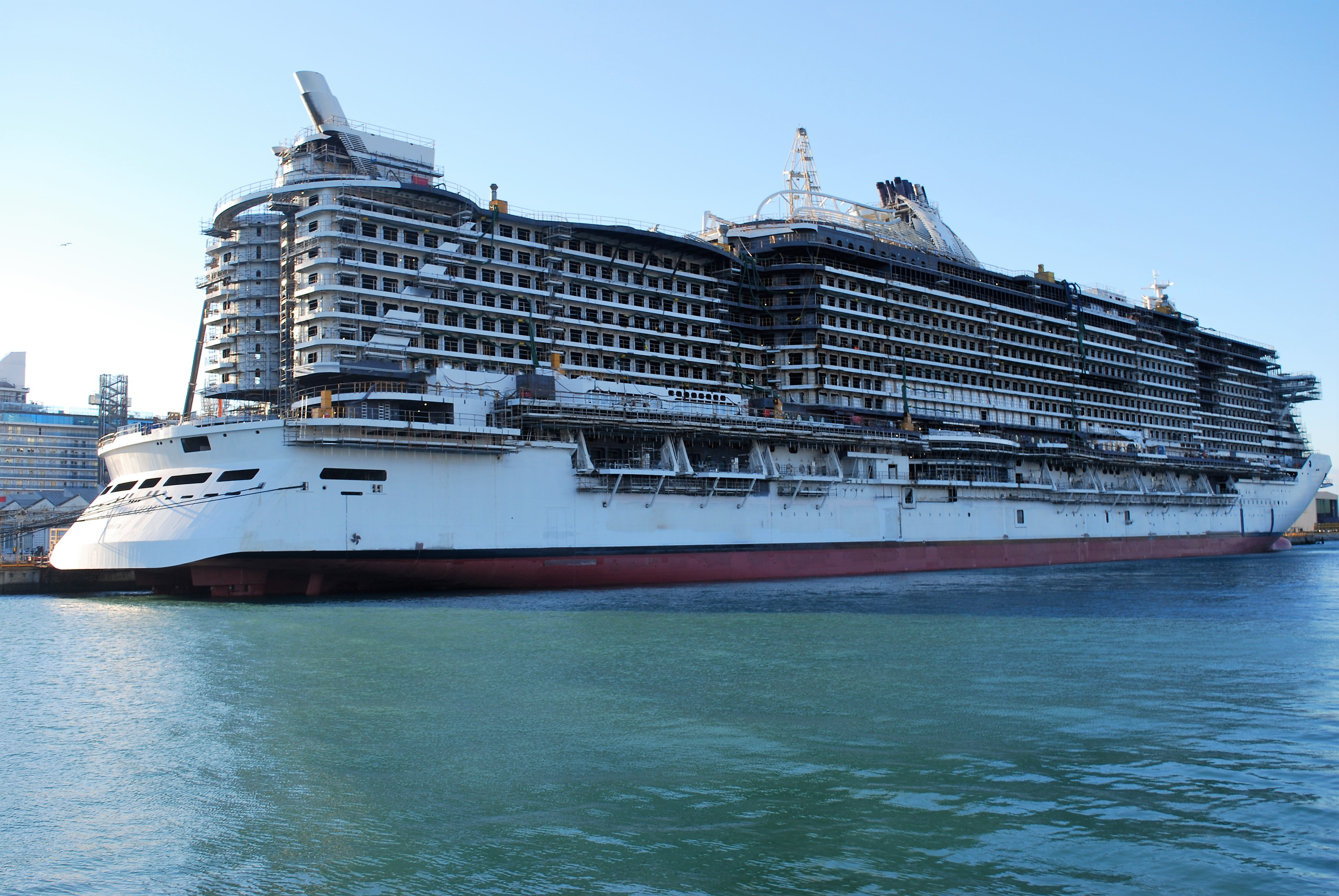 Image result for MSC Seaview float out