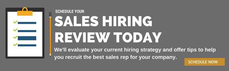 sales hiring review