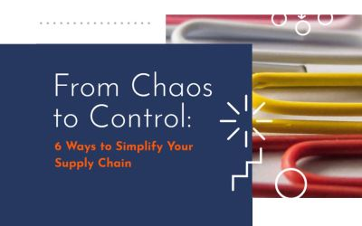 From Chaos to Control: New eBook Spotlights 6 Ways to Simplify Your Supply Chain