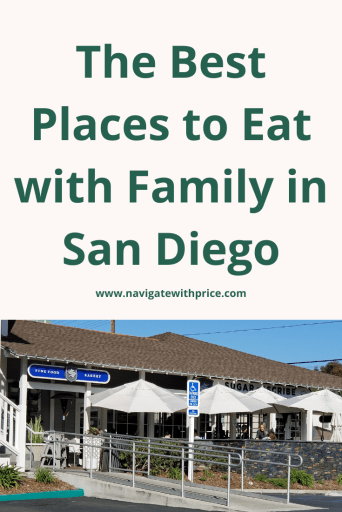 My list of the best places to eat with family in San Diego is a variety of restaurants, bakeries, and ice cream that will not disappoint.