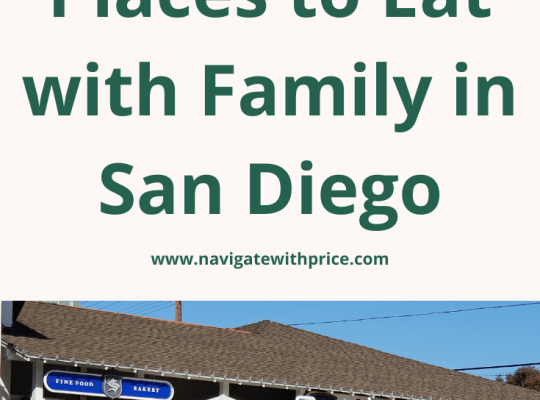 The Best Places to Eat with Family in San Diego