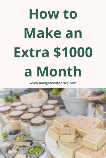 How to make an extra $1000 a month with side hustles. Sell products, become a bookkeeper, start a blog, build an e-commerce store and more.