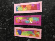 Bookmarks World Book Day craft