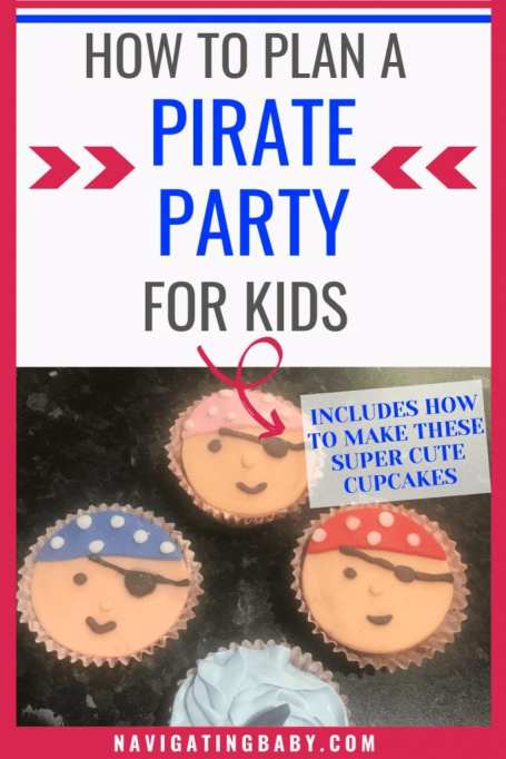 Pirate Party Ideas and Cupcakes