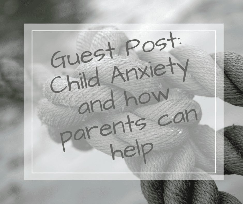child anxiety is real