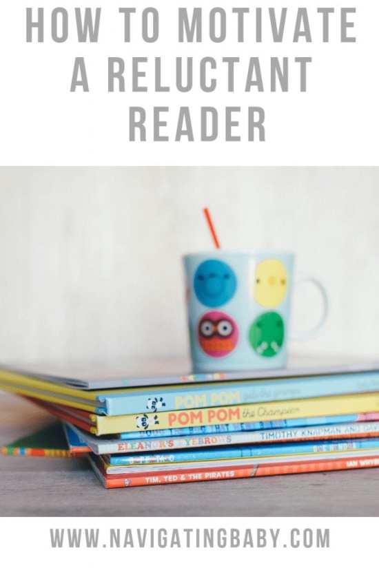 Motivate a reluctant reader