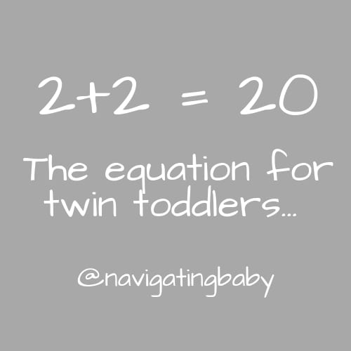 twin toddlers
