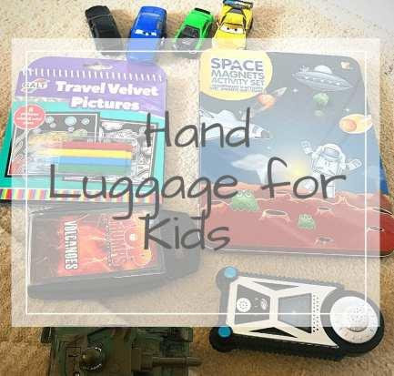 kids hand luggage
