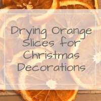 A how to of drying orange slices for Christmas