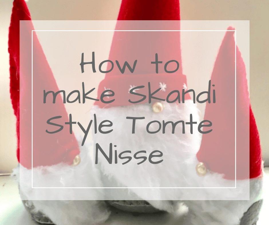 how to make swedish tomte nisse