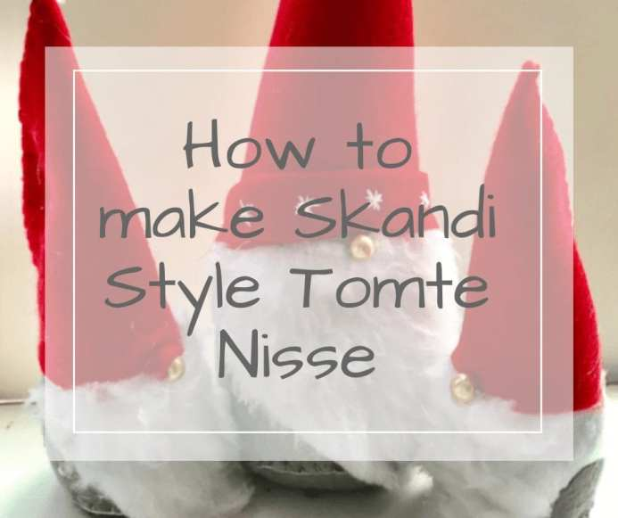 how to make swedish tomte nisse on DreamTeam Christmas