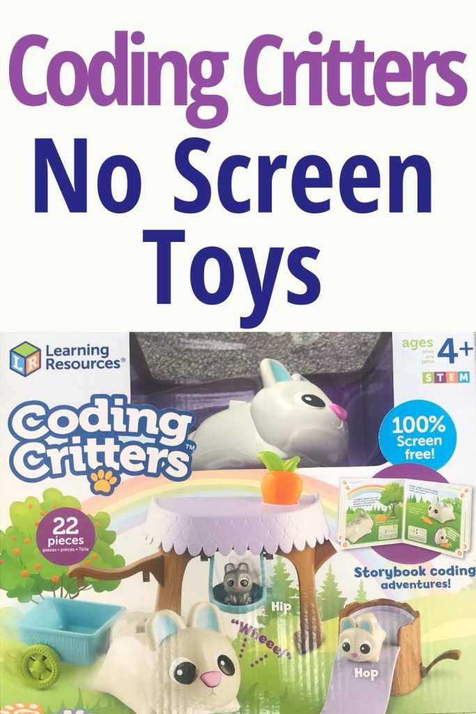 Coding Critters No screen toys