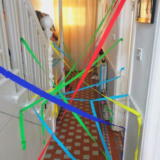 Kids Lockdown Birthday Crepe Paper