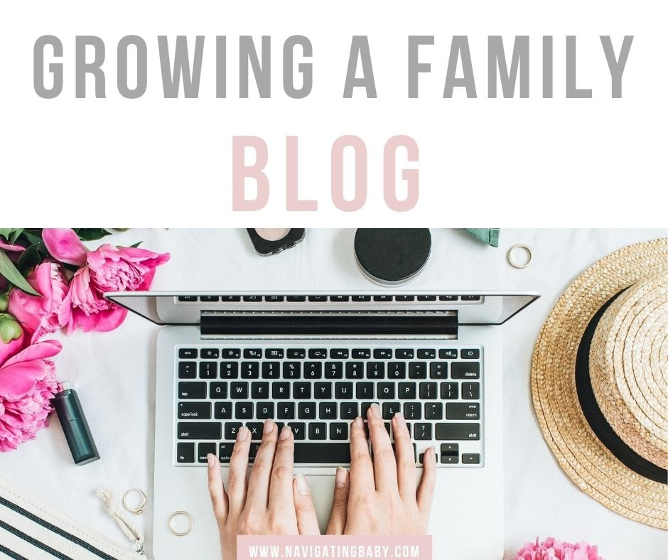Being a family blogger