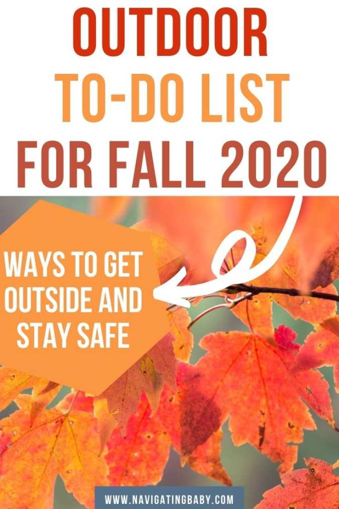 Outdoor to-do list fall