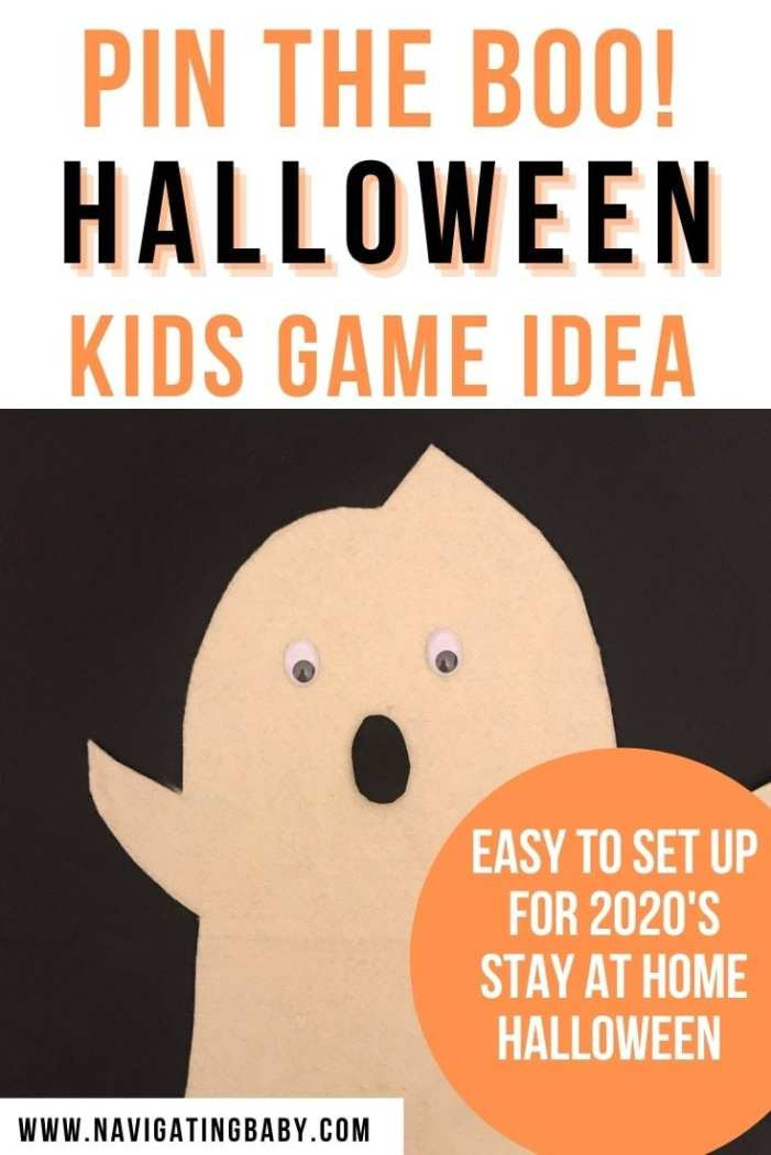 Halloween at home kids game idea