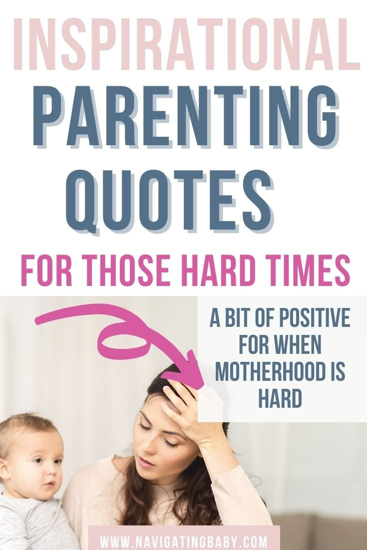 inspirational parenting quotes for hard times