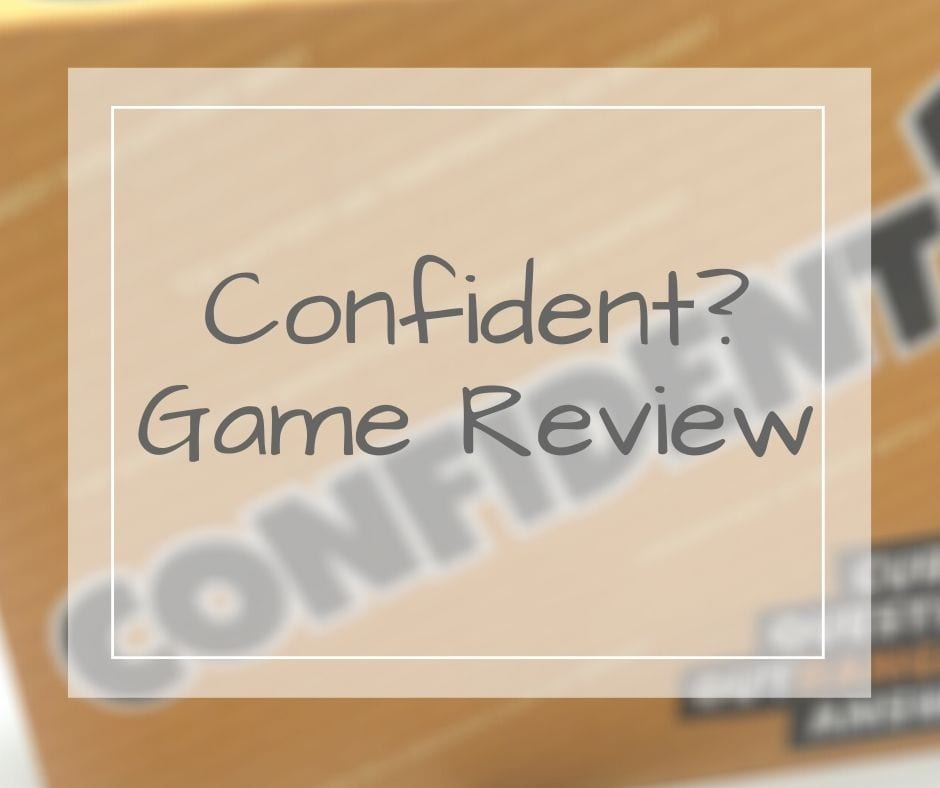 Confident game perfect for familes