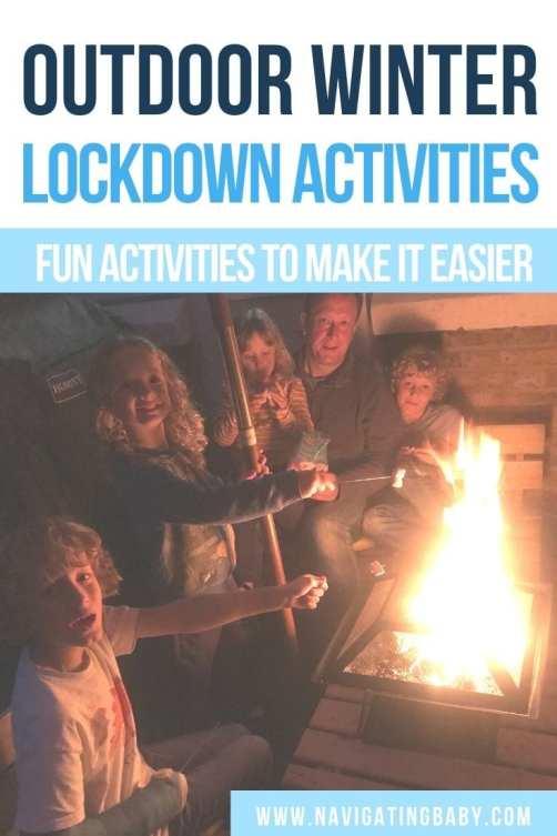 Winter lockdown activities outdoors