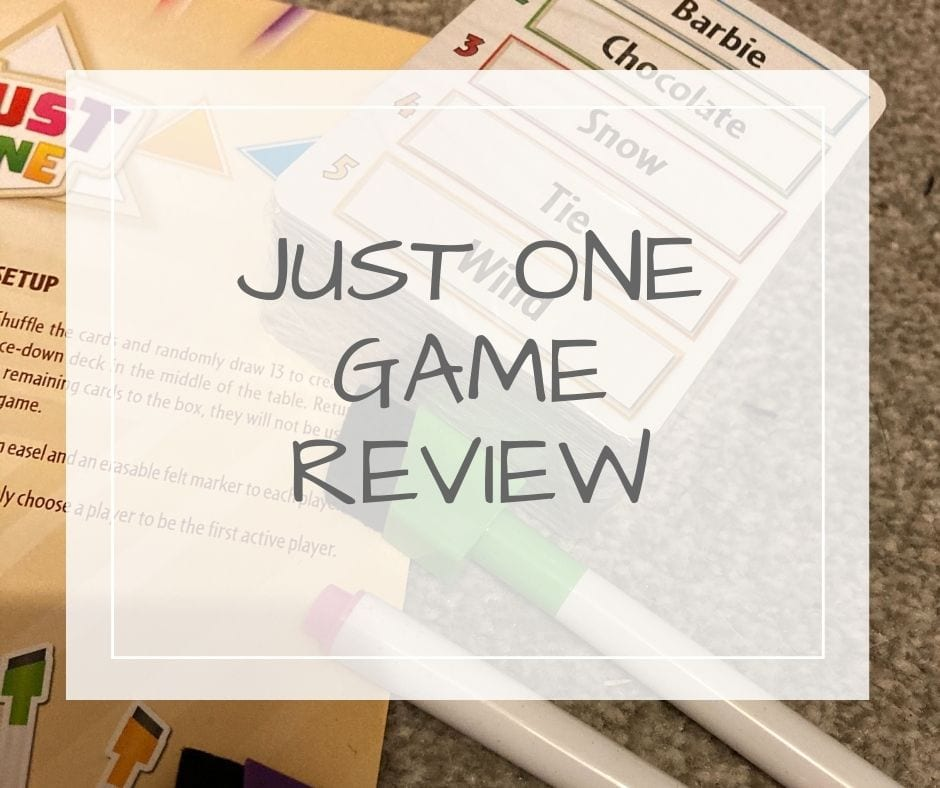 Just One Game Review