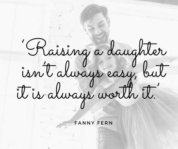 raising a daughter quote