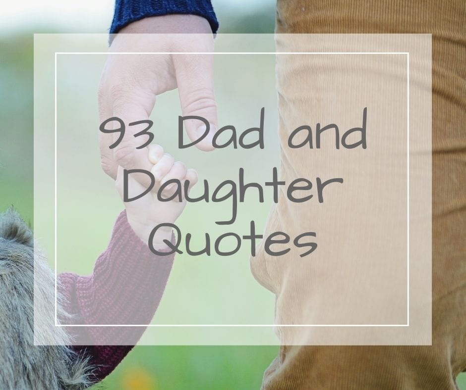 dad and daughter quotes