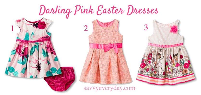 darling pink dresses NEW