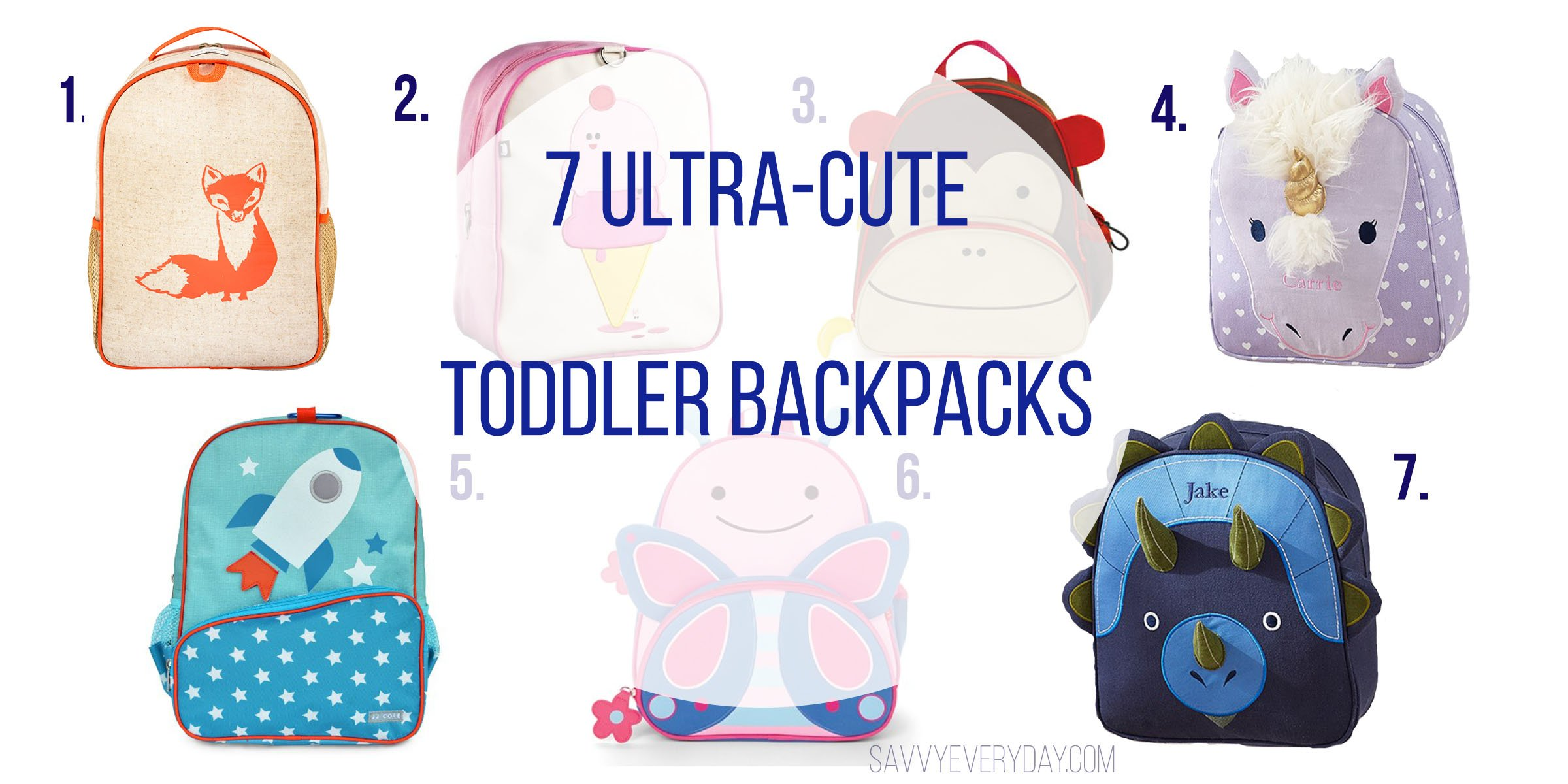 a68d48dcb310 Cute Toddler Backpacks